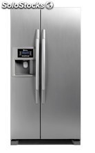 Frigorífico americano side by side balay 3fa7787a inox con dispensador de agua y