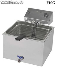 friteuse Gastronormes avec robinet F10G