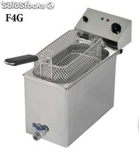 friteuse Gastronormes avec robinet F4G