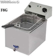 friteuse Gastronormes avec robinet F8G