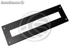 Front panel open 3U DIN rail rack 19 (RZ74-0003)