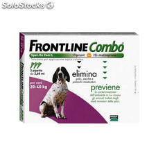 Frontline Combo Spot On Perros 20-40 Kg. Pipetas 3 UD.
