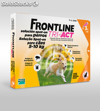 Frontline Tri Act 5-10 Kg 3.00 pipette