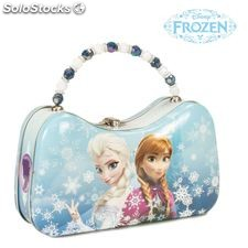 Frozen Anna and Elsa Tin Scoop Purse