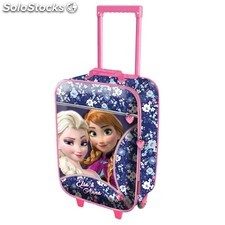 Frozen Maleta Trolley Soft Zipper