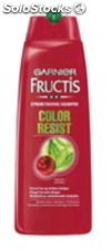 Fructis Garnier champu color resist