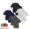 Fruit of the Loom Camiseta Original algodón 100% multicolor 10 uds