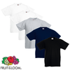 Fruit of the Loom Camiseta para niños 5 unidades multicolor talla 116