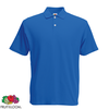 Fruit of the Loom Camiseta polo azul real talla L para hombres