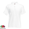 Fruit of the Loom Camiseta tipo polo blanca XXXL para hombres