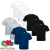 Fruit of the Loom Camiseta Value Weight talla G multicolor 3XL 10 uds