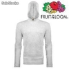 Fruit of the loom - męskie i damskie t-shirt - longsleeve z kapturem