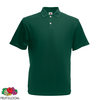 Fruit of the Loom Polo Homme Vert forêt Original L