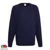 Fruit of the Loom Sudadera de cuello redondo azul marino talla M