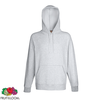 Fruit of the Loom Sweat shirt à capuche Homme Hoodie Gris chiné L