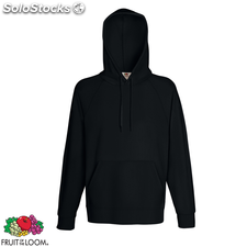Fruit of the Loom Sweat shirt à capuche Homme Hoodie Noir S