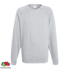 Fruit of the Loom Sweat shirt col ras du cou Homme Gris chiné S