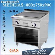 Fry-tops repagas a gas ftg-72/m+s-87