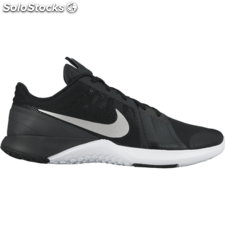 Fs lite trainer 3 black/mtllc slvr anthrct white unisex 7.5