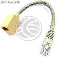 Ftp Cat.6 RJ45 adapter m/h 15cm Cross (RC64)