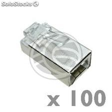 FTP connector Cat.5e RJ45 male to crimp cable 100-pack (RH06)