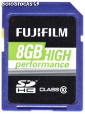 Fujifilm 8GB SDHC tarjeta High Performance / Class 10