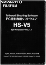 Fujifilm Shooting Software HS-V5 1.0 Windows
