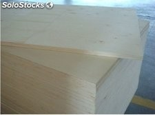 Full poplar plywood with 15mm chinese / madera contrachapada de alamo 15mm