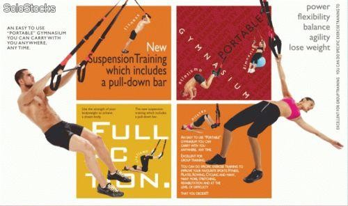 FullAction Suspension Trainer con barra despegable evolucion trx