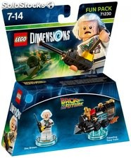 Fun pack lego Back Future Doc Brown