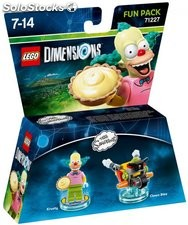 Fun pack lego Simpsons Krusty