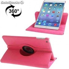 Funda 360º ipad air 2 rosa fucsia
