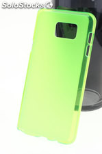 Funda Alcatel One Touch Pop C7 tpu Mate-Trans Verde