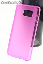 Funda Apple IPhone 5 / 5S tpu Mate-Trans Fucsia
