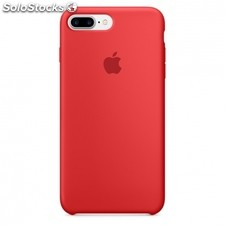 Funda apple iphone 7 plus silicona rojo product(red) - MMQV2ZM/a