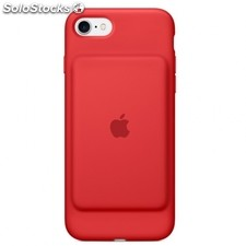 Funda apple smart battery case iphone 7 funda bateria roja (product)red -