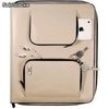 Funda Artwizz de cuero beige para iPad