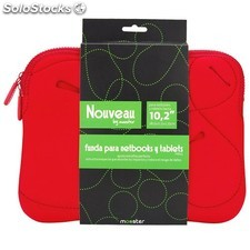 Funda bolsa Mooster Nouveau MB56 PC portatil red hasta 15.6""