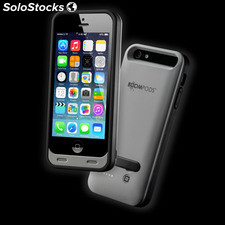 Funda Boompods Powercase Iphone 5 Gris