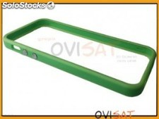 Funda bumper verde para Apple iPhone 5/5S en blister