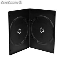 funda cd/dvd doble standar negra PEC03-14241