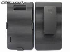 Funda Clip combo Holster protector for lg Optimus l7 p700 p705