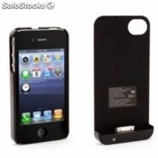 Funda con bateria Griffin Reserve Power negra iPhone 4/4S
