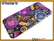 Funda con dibujos de TPU para Apple iPhone 6 plus