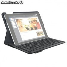 Funda con teclado logitech type+ para apple ipad air / air 2 - 920-006587