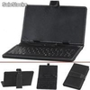Funda con teclado para tablet pc