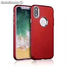 Funda de iPhone X anti-huella dactilar