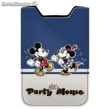 Funda de movil party mickey y minnie