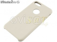Funda de TPU color crema-blanco, para iPhone 7, iPhone 8, 4SMARTS en blister.