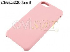 Funda de TPU color rosa claro, para iPhone 7, iPhone 8, 4SMARTS en blister.